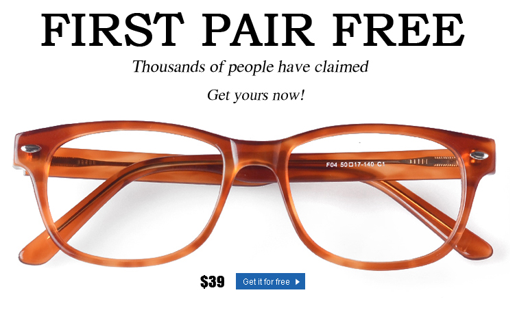 primer par de gafas gratis