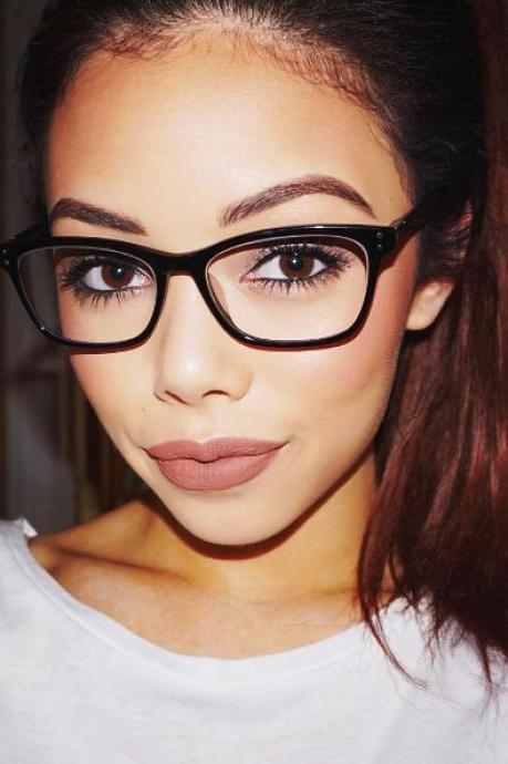 Glasses Frame Color For Black Hair : Chic Glasses Firmoo+