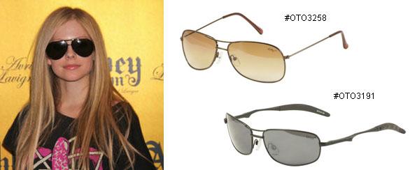 67e6520499 prescription sunglasses store  Avril Lavigne Glasses  The Geeky ...