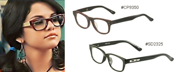 Selena Gomez Eyeglasses